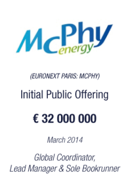 Mcphy Energy tombstone