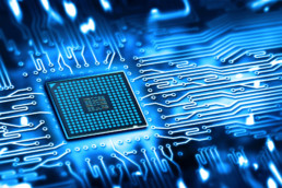 Integrated microchip photo