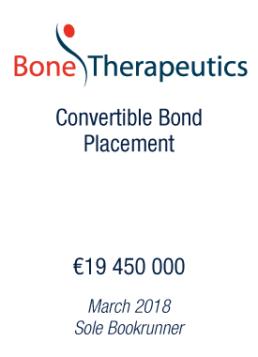 Bone Therapeutics tombstone