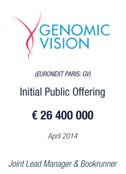 Genomic Vision tombstone