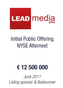 Leadmedia tombstone