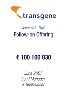 Transgene 2007 tombstone