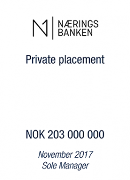 N1 Naerings Banken_tombstone_nov17